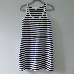 Old Navy Dress Striped Tank Tee Cotton